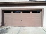 Big Garage Windows Ext. View After Tinting
