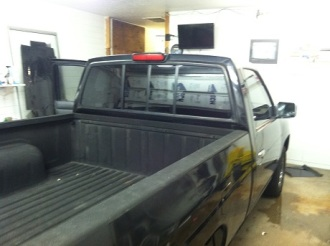 After New Truck Window Tinting1
