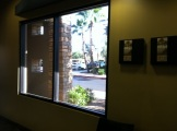 Before New Commercial Bronze Window tint