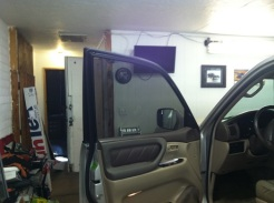Drivers door after new Window Tinting