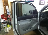 Tacoma After New Window Tint doors